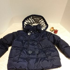 Baby Gap nautical puffer coat